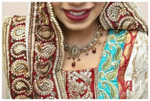 bridal dress, Matching necklace