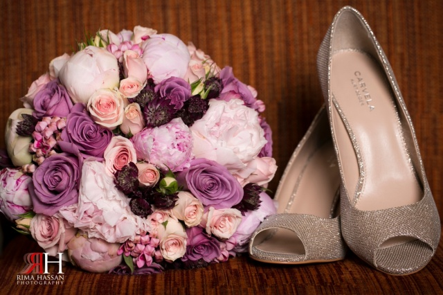 Al_Murooj_Rotana_Engagement_Wedding_Dubai_UAE_Photographer_Rima_Hassan_shoes_bouquet