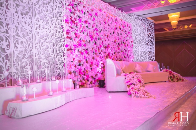 Planner floral backdrop flower backdrop wedding wedding backdrop - Wedding At Crowne Plaza Seikh Zayed Road Dubai Rima