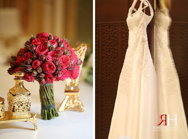 Latifa_Ballroom_Wedding_Photographer_Dubai_UAE_Rima_Hassan_dress_bouquet