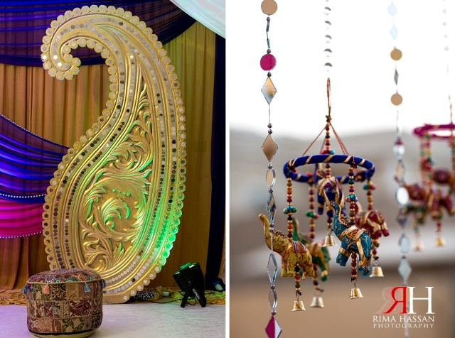 Henna_Photography_Dubai_Female_Wedding_Photographer_UAE_Rima_Hassan_indian_theme_kosha_decoration_stage_paisley_design