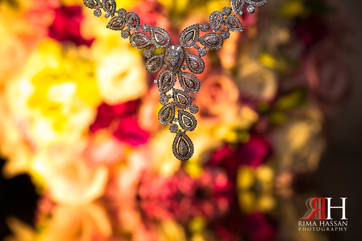 Hyatt_Regency_Hotel_Dubai_Wedding_Photography_Female_photographer_UAE_Rima_Hassan_bridal_jewelry_diamond_necklace