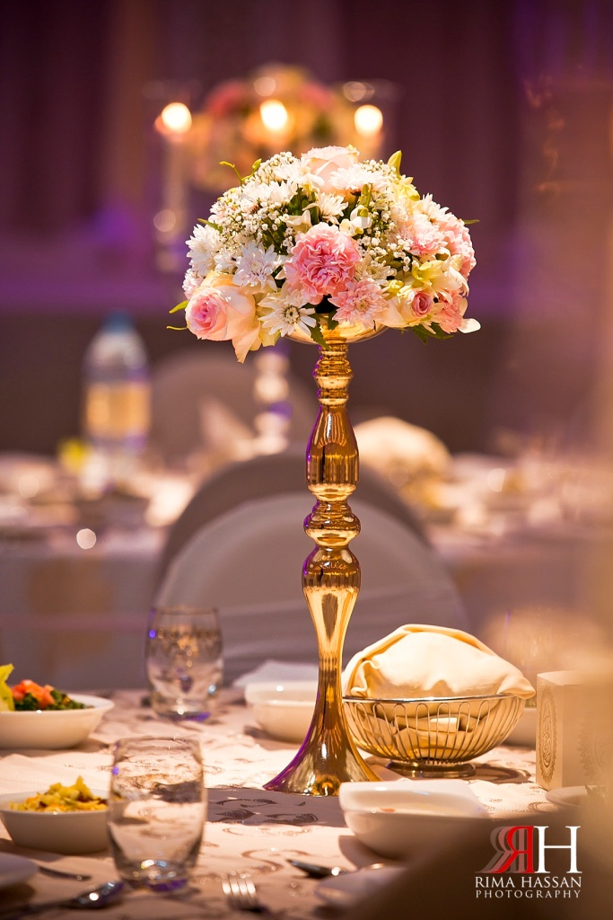 Hyatt_Regency_Hotel_Dubai_Wedding_Photography_Female_photographer_UAE_Rima_Hassan_kosha_decoration_centerpiece_stage