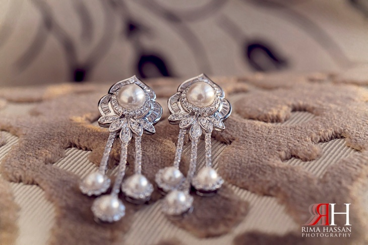 LeMeridian_Wedding_Photography_Dubai_Female_Photographer_UAE_Rima_Hassan_bridal_jewelry_diamond_earrings