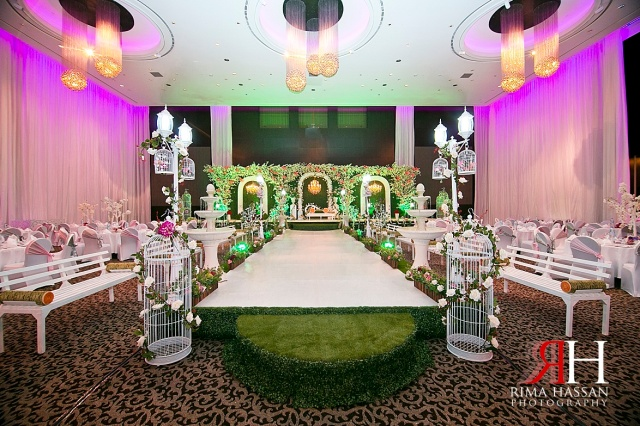 LeMeridian_Wedding_Photography_Dubai_Female_Photographer_UAE_Rima_Hassan_garden_theme_kosha_decoration_stage_almahad_event