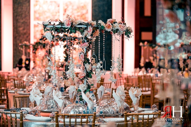 Trade_Center_Dubai_Wedding_Female_Photographer_UAE_Rima_Hassan_kosha_decoration_stage_centerpiece