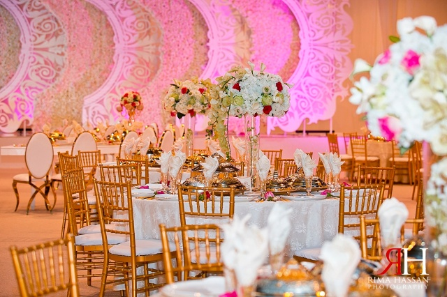 Trade_Center_Zabeel_Dubai_Wedding_Female_Photographer_UAE_Rima_Hassan_kosha_decoration_Joelle_stage_centerpiece