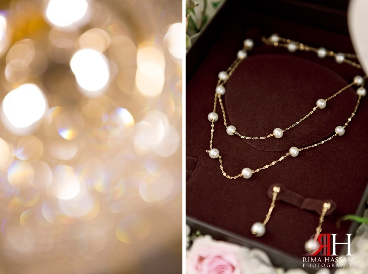 Markaz_Rasool_Sabahiya_Wedding_Female_Photographer_Dubai_UAE_Rima_Hassan_engagement_bridal_jewelry_pearls_necklace