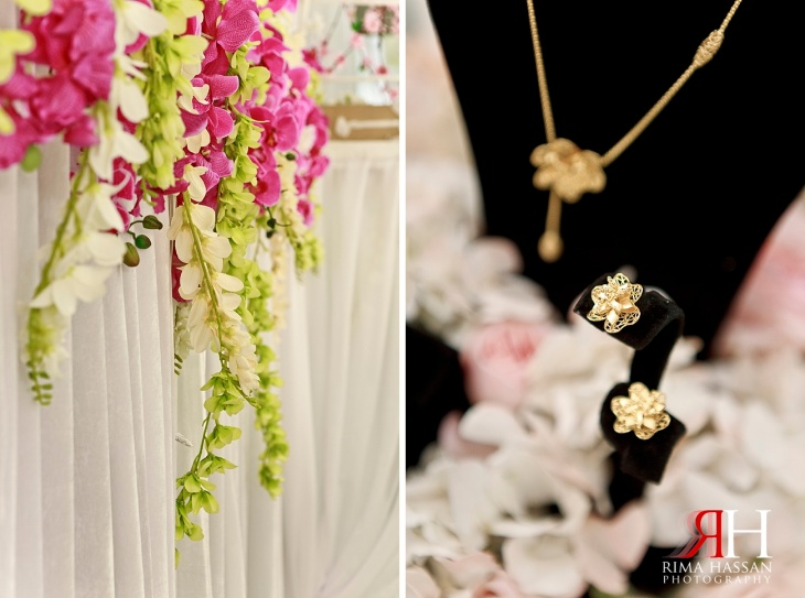 Markaz_Rasool_Sabahiya_Wedding_Female_Photographer_Dubai_UAE_Rima_Hassan_kosha_decoration_stage_jewelry_gold