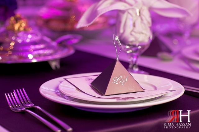 Sharja_Ladies_Club_Wedding_Female_Photographer_Dubai_UAE_Rima_Hassan_stage_kosha_decoration_purple_tableware_party-favor