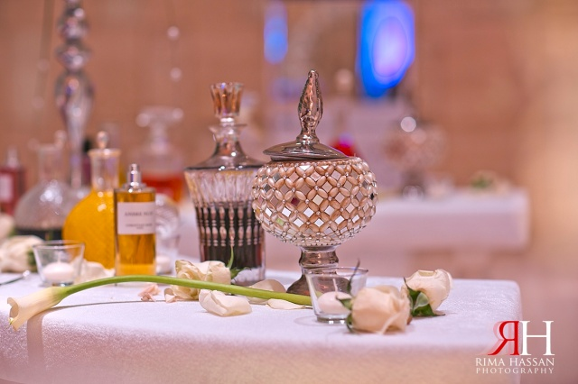 Aloft_Abu-Dhabi_Wedding_Female_Photographer_Dubai_UAE_Rima_Hassan_kosha_decoration_stage_perfume_table