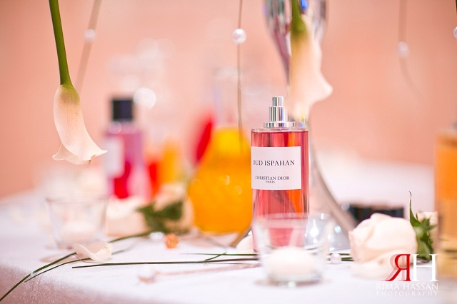Aloft_Abu-Dhabi_Wedding_Female_Photographer_Dubai_UAE_Rima_Hassan_kosha_decoration_stage_table_perfume
