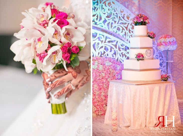 RAK_Wedding_Female_Photographer_Dubai_UAE_Rima_Hassan_bridal_flowers_bouquet_cake