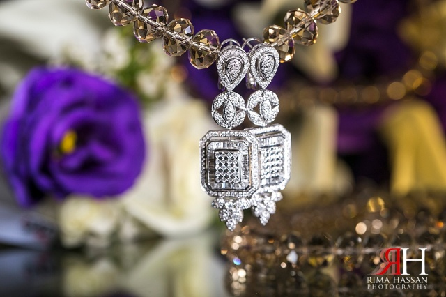 Hyatt_Regency_Wedding_Female_Photographer_Dubai_UAE_Rima_Hassan_bridal_diamond_jewelry_earrings