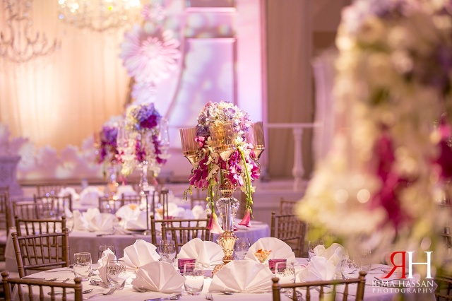 Hyatt_Regency_Wedding_Female_Photographer_Dubai_UAE_Rima_Hassan_kosha_decoration_stage_dream_services_centerpieces