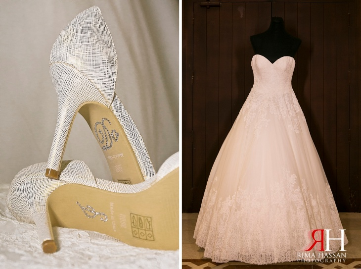 AL-Boom-Village_Wedding_Female_Photographer_Dubai_UAE_Rima_Hassan_bridal_dress_shoes