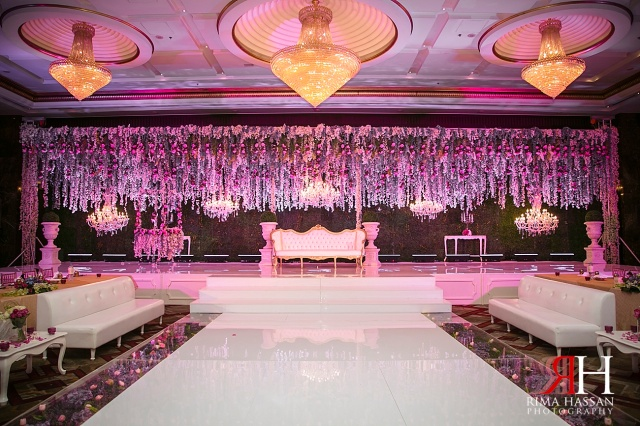 Abu dhabi wedding rima hassan for Arab wedding stage decoration