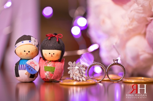 Grand_Hyatt_Dubai_Wedding_Female_Photographer_UAE_Rima_Hassan_bridal_jewelry_props_japanese-dolls_bouquet