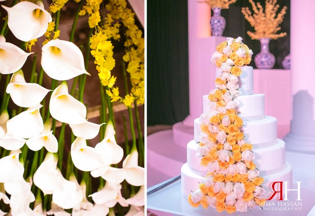 InterContinental_Dubai_Wedding_Female_Photographer_UAE_Rima_Hassan_kosha_stage_decoration_afkar_haifa-almarri_calla-lily_cake