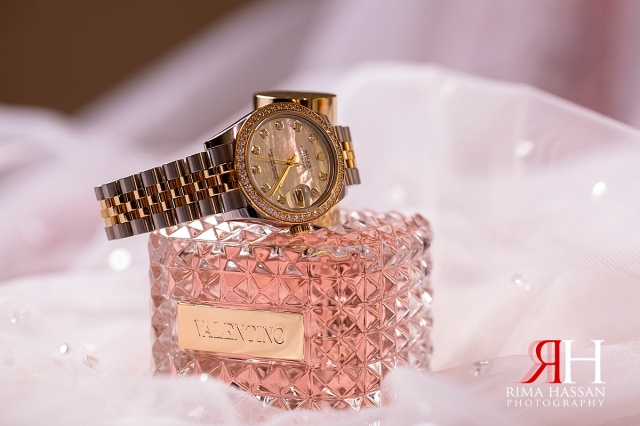 Al-Ain_Rotana_Wedding_Female_Photographer_Dubai_UAE_Rima_Hassan_kosha_decoration_stage_bride_jewelry_rolex_watch