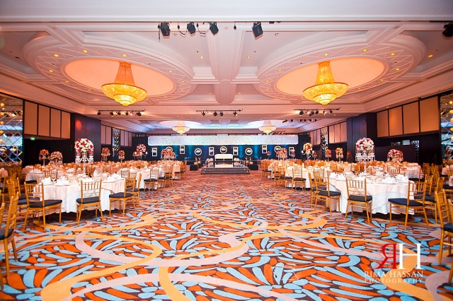 Bustan_Rotana_Female_Wedding_Photographer_Dubai_UAE_Rima_Hassan_kosha_decoration_stage_ballroom