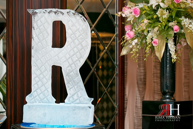 Bustan_Rotana_Female_Wedding_Photographer_Dubai_UAE_Rima_Hassan_kosha_decoration_stage_ice-sulpture