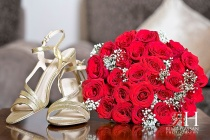 Henna_Mirdif_Wedding_Female_Photographer_Dubai_UAE_Rima_Hassan_bride_bouquet_shoes