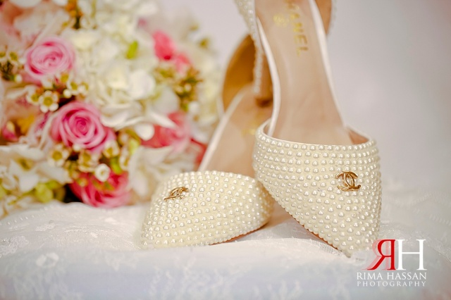 Crowne_Plaza_Wedding_Female_Photographer_Dubai_UAE_Rima_Hassan_bridal_shoes_Chanel