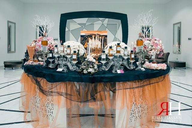 Wedding_Female_Photographer_Dubai_UAE_Rima_Hassan_stage_kosha_decoration_table_perfume