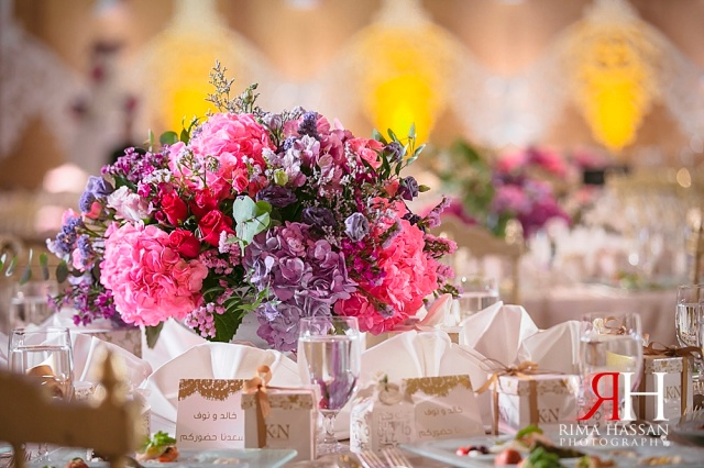 Grand_Hyatt_Wedding_Female_Photographer_Dubai_UAE_Rima_Hassan_kosha_stage_decoration_flower-centerpiece