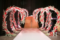 Trade_Center_Royal_Wedding_Female_Photographer_Dubai_UAE_Rima_Hassan_decoration_stage_kosha_entrace