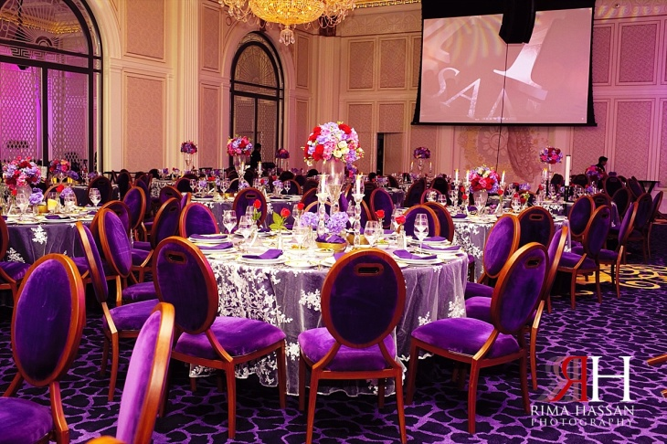 Palazzo_Versace_Wedding_Female_Photographer_Dubai_UAE_Rima_Hassan_kosha_decoration_stage_table