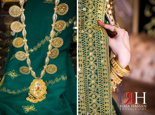 Barsha_Henna_Female_Wedding_Photographer_Dubai_UAE_Rima_Hassan_bridal_gold_necklace_hand