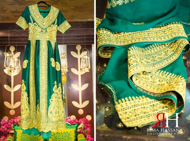 Barsha_Henna_Female_Wedding_Photographer_Dubai_UAE_Rima_Hassan_bridal_green_dress