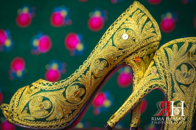 Barsha_Henna_Female_Wedding_Photographer_Dubai_UAE_Rima_Hassan_bridal_shoe_details