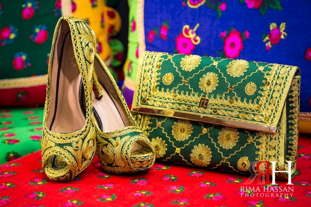 Barsha_Henna_Female_Wedding_Photographer_Dubai_UAE_Rima_Hassan_bridal_shoes_purse