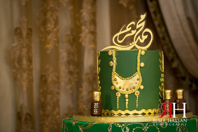 Barsha_Henna_Female_Wedding_Photographer_Dubai_UAE_Rima_Hassan_cake