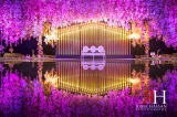 Zabeel_Trade_Center_Wedding_Female_Photographer_Dubai_UAE_Rima_Hassan_kosha_decoration_stage
