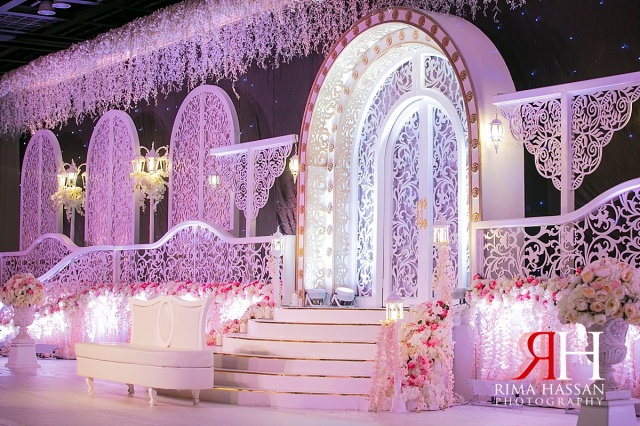Decoration rima hassan zabeel hall dwtc wedding huda ibrahim junglespirit Gallery