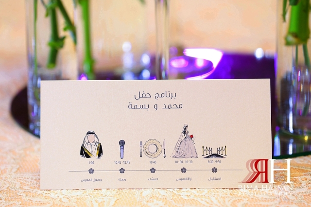 ritz_carlton_dubai_female_wedding_photographer_rima_hassan_stage_decoration_timeline_cards