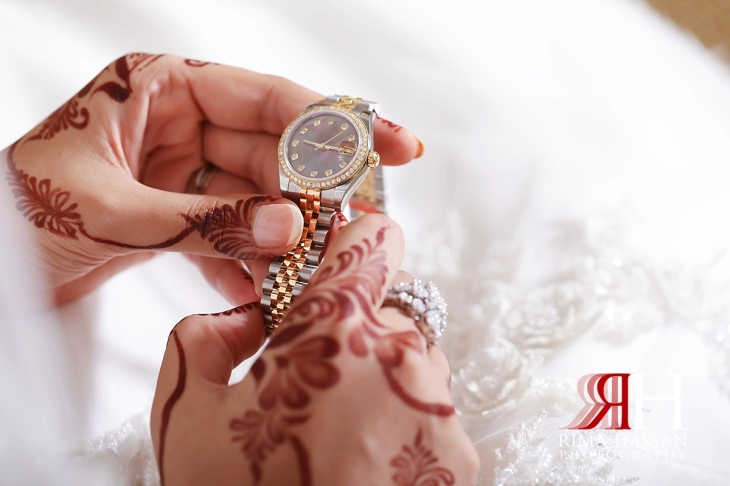 al-jawaher_sharjah_female_wedding_photographer_rima_hassan_bride_watch_rolex
