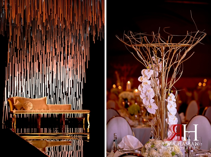 grand_hyatt_wedding_dubai_female_photographer_rima_hassan_kosha_decoration_gold_stage_centerpiece
