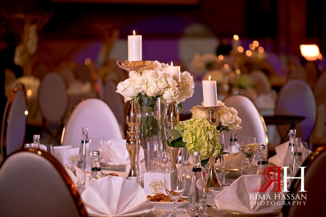 grand_hyatt_wedding_dubai_female_photographer_rima_hassan_kosha_decoration_stage_centerpiece