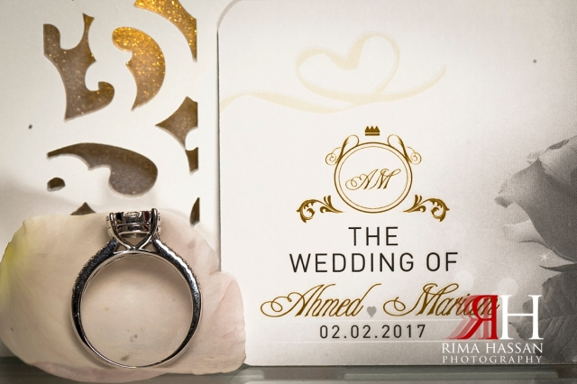Hyatt_Regency_Dubai_Wedding_Female_Photographer_Rima_Hassan_bridal_ring_invitation