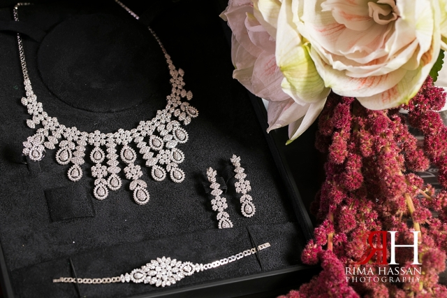 Bustan_Rotana_Dubai_Wedding_Female_Photographer_Rima_Hassan_bride_diamond_jewelry