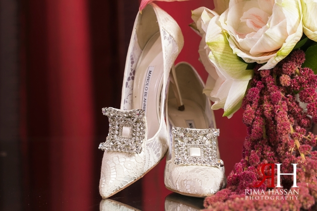 Bustan_Rotana_Dubai_Wedding_Female_Photographer_Rima_Hassan_bride_shoes_manolo