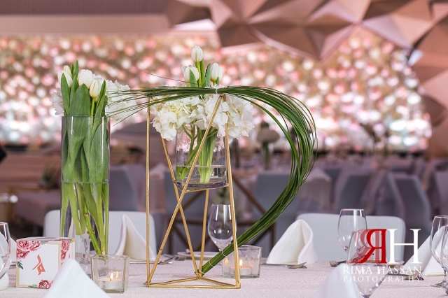 Le-Meridien_Dubai_Wedding_Female_Photographer_Rima_Hassan_stage_kosha_decoration_dream_centerpieces