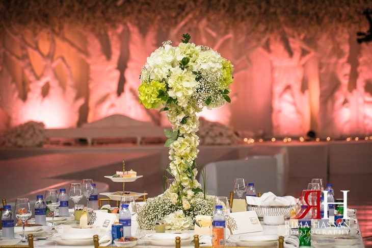 Royal_Hall_Khorfokan_Wedding_Female_Photographer_Rima_Hassan_kosha_stage_decoration_centerpiece