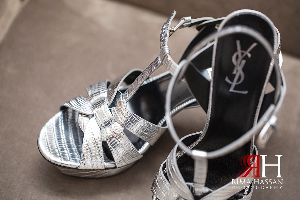 Saint_Regis_Dubai_Wedding_Female_Photographer_Rima_Hassan_bride_shoes_YSL