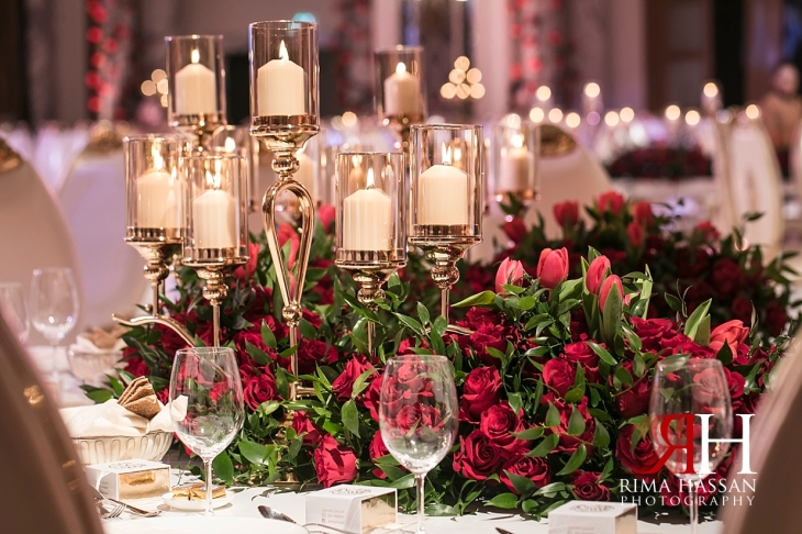 Saint_Regis_Dubai_Wedding_Female_Photographer_Rima_Hassan_stage_kosha_decoration_centerpiece